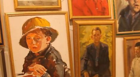 «Автопортрет с Президентом», галерея «Татьянин день»