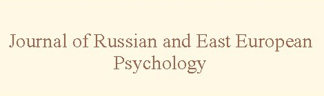 Journal of Russian and East European Psychology